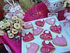 Свадебный Кенди бар Candy Bar в ярко розовых тоннах, фото 6