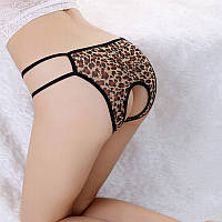 Сексуальные трусы леопард для эро игр