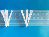 Прозрачная лента 8см  гусинная лапка