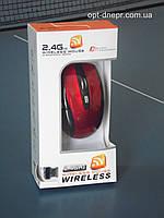 Беспроводной комплект мышь и клавиатура красная USB  G108