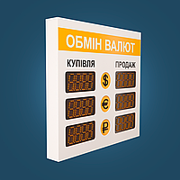 Светодиодный указатель курсов обмена валют OV-002