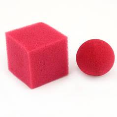 Реквизит для фокусов | Ball Square Mystery by Goshman | Поролоновый шарик превращающийся в поролоновый куб