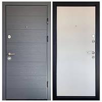 Входная дверь для квартиры или улицы Монолит Эко 3 контура уплотнения! темная+светлая накладка