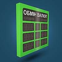 Светодиодный указатель курсов обмена валют OV-004