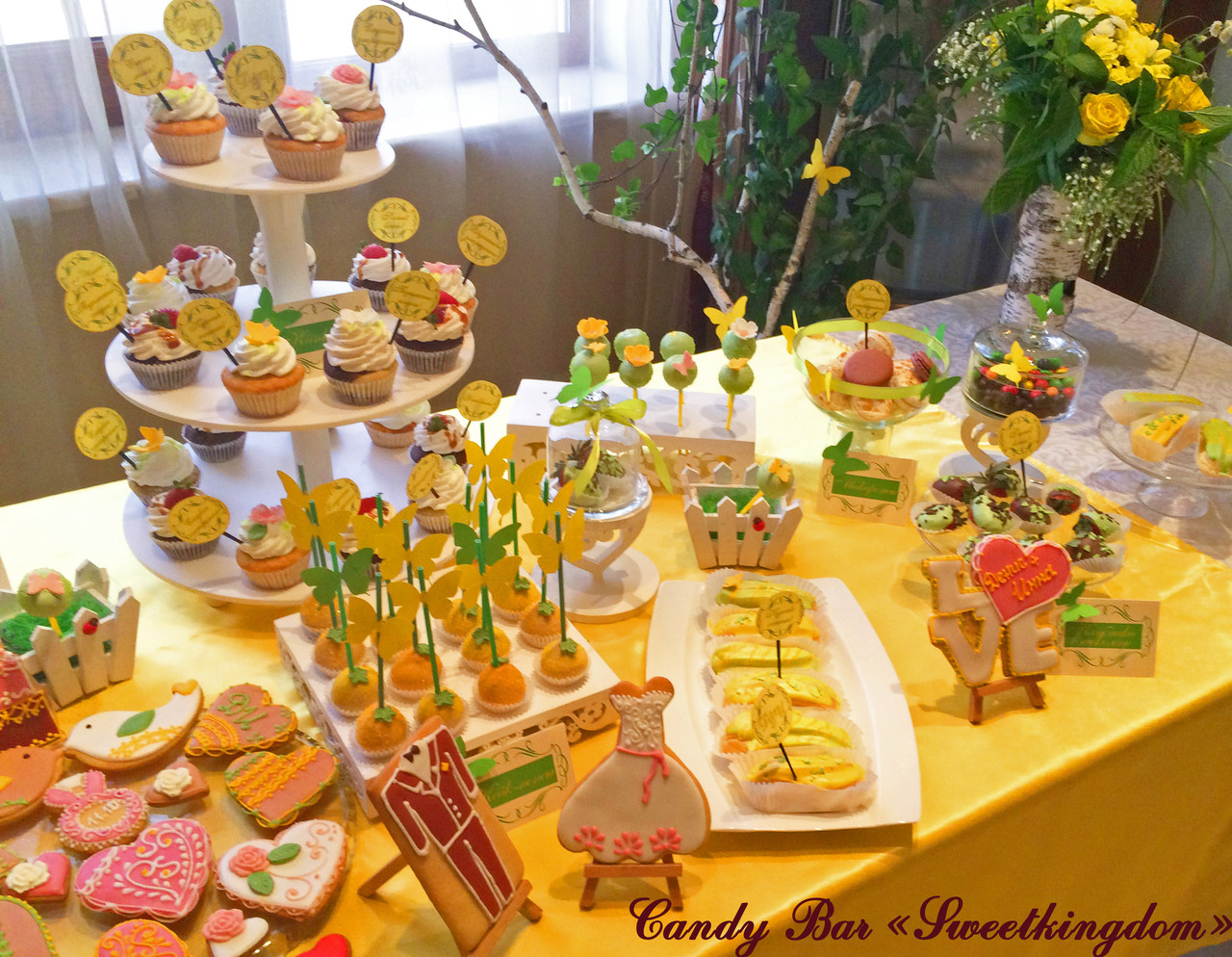 Свадебный Кенди бар Candy Bar Лесная симфония