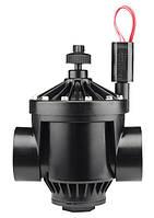 Электромагнитный клапан Hunter для автополива  PGV-201-B с управлением потока