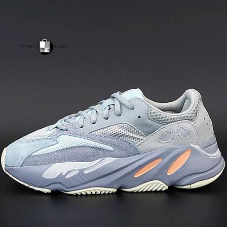 """Рефлектив   Жіночі кросівки в стилі Adidas Yeezy Boost 700 """"Inertia"""", фото 2"""