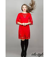 Платье Валенсия (красный) , фото 1