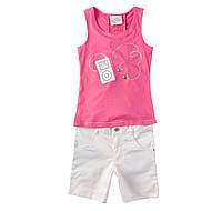 Детский брендовый летний костюм  на девочку  на рост 110 115 120