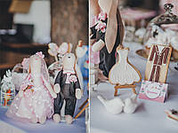 Свадебный Кэнди бар в стиле Шебби шик Shabby Chic