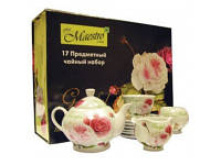 Чайный набор 17 предметов Maestro MR-10011-17S