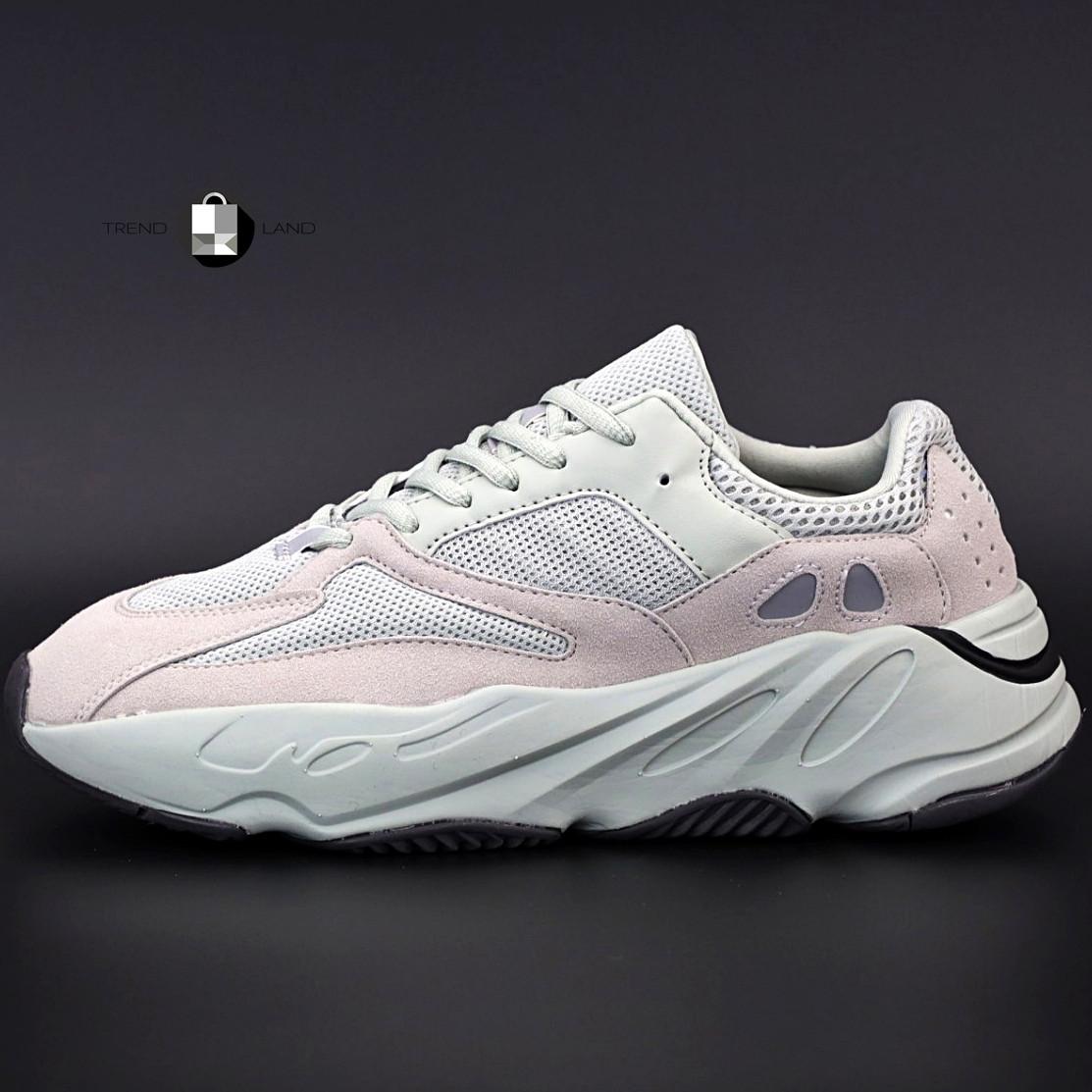 "Рефлектив | Женские кроссовки в стиле Adidas Yeezy Boost 700 ""Triple White Pink"""