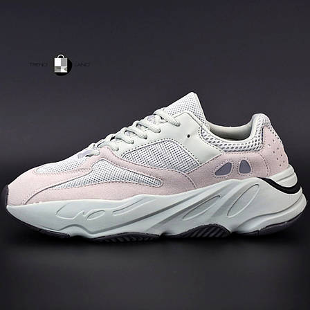 "Рефлектив | Женские кроссовки в стиле Adidas Yeezy Boost 700 ""Triple White Pink"", фото 2"