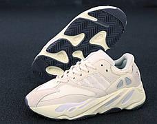 """Рефлектив   Жіночі кросівки в стилі Adidas Yeezy Boost 700 """"Triple Beige Pink"""", фото 3"""
