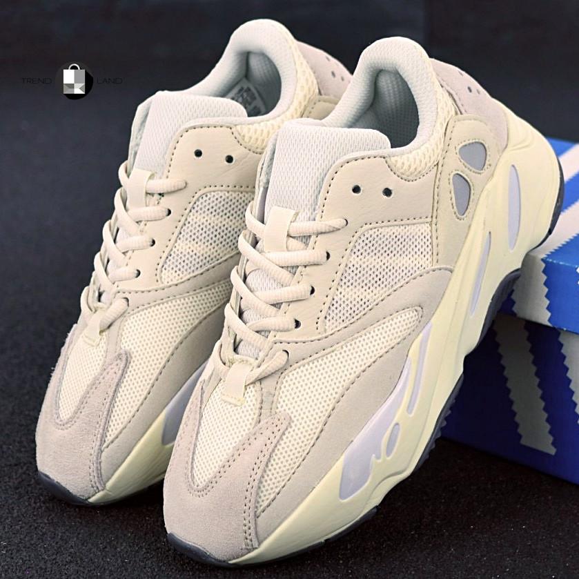 """Рефлектив   Жіночі кросівки в стилі Adidas Yeezy Boost 700 """"Triple Beige Pink"""""""