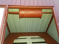 Крышка для колодца (диаметр кольца 1,1 м) вишневый глянец