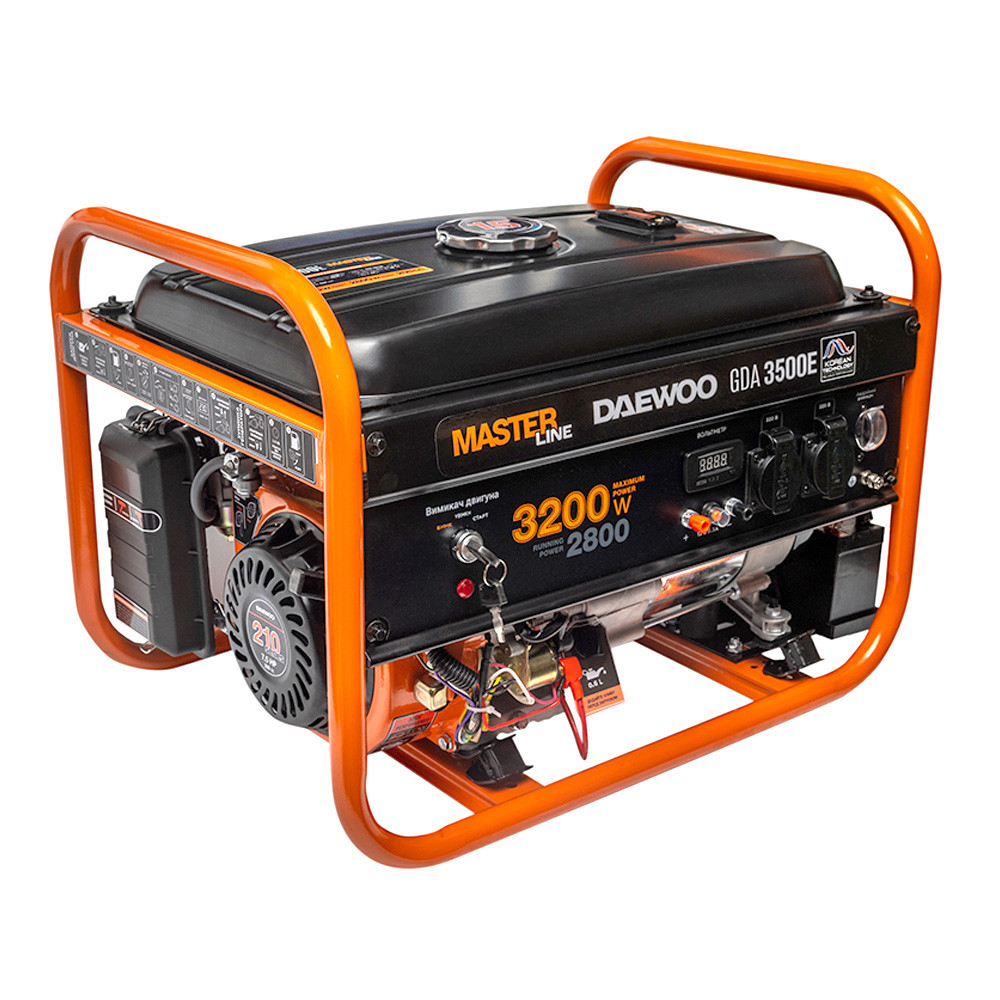 Генератор бензиновый Daewoo GDA 3500E