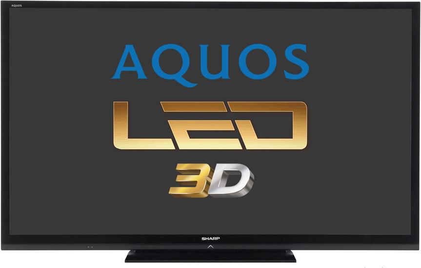 Телевизор Sharp LC80LE657 (200Гц, Full HD, Smart TV, Wi-Fi, 3D)