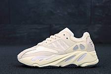 """Рефлектив   Жіночі кросівки в стилі Adidas Yeezy Boost 700 """"Triple Beige Pink"""", фото 2"""