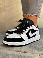 Кросівки жіночі чорно-білі. Жіночі стильні кросівки чорно-білого кольору., фото 1