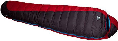 Комфортный спальный мешок Sir Joseph Erratic plus II 850/190/-12°C Red/Blue (Left) 922282 красный
