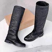 Демісезонні чоботи труби = Python 11770, фото 1