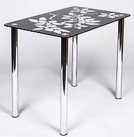 """Стеклянный кухонный стол """"Comfy Home"""" Wanda"""