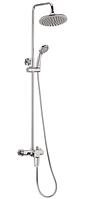 Душевая колонна со смесителем Haiba OPUS 003-J система душевая латунная хромированная с тропическим душем