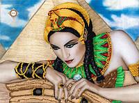 """Схема дял частичной вышивки бисером """"Тайны пирамид"""""""