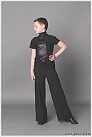 Тренировочная одежда для бальных танцев, гольф мужской «Галстук»
