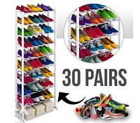 Органайзер для обуви Amazing shoe rack (полка для обуви Эмейзинг шу рек), фото 1
