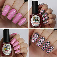 Тинты для ногтей Aquarelle tints for nail art and stamping  El Corazon