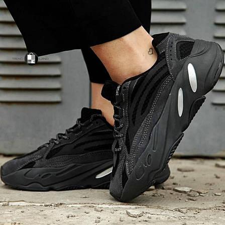 Рефлектив | Женские кроссовки в стиле Adidas Yeezy Boost 700 V2 Vanta, фото 2