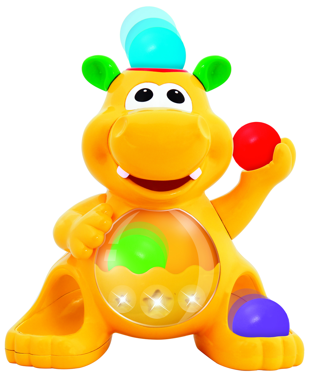 Іграшка - Гіпопотам-Жонглер