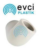 Колено (угол) ППР 25 х 90° для полипропиленовых труб Evci Plastik