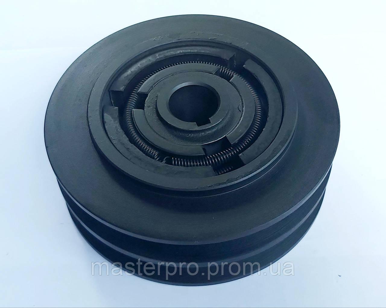 Центробежное сцепление на вал 22mm  диаметр 148mm 2 ручья А