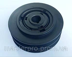 Центробежное сцепление на вал 22mm  диаметр 148mm 2 ручья А, фото 2
