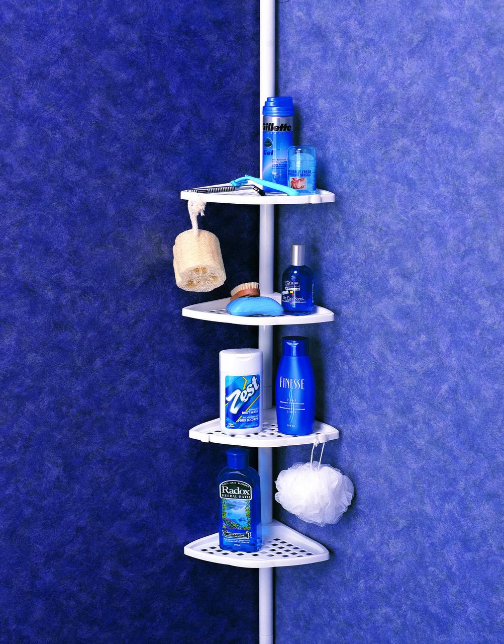 Полка для ванной PrimaNova N11-02 Голубой