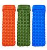 Каремат надувний 220 см х 56 х 6 см / Надувний матрац для сну / Килимок для кемпінгу, фото 5