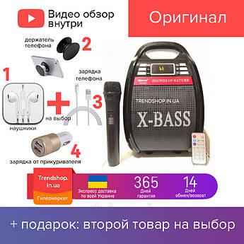 30 W Портативна Bluetooth колонка комбік Golon RX-810BT акустична система з мікрофоном 30 Вт