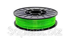 CoPET (PETg) пластик 3Dplast для 3D принтера 1.75 мм 0.85, зелений-трав'яний
