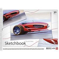 Альбом для малювання Школярик 30листов пружина ПДВ Хлопчики PB-SC-030-080