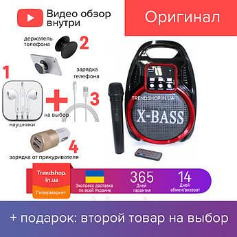 30 W Портативна Bluetooth колонка комбік Golon RX-820BT акустична система з мікрофоном 30 Вт