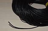 Шнур кожаный черный 2 мм на метраж, фото 2