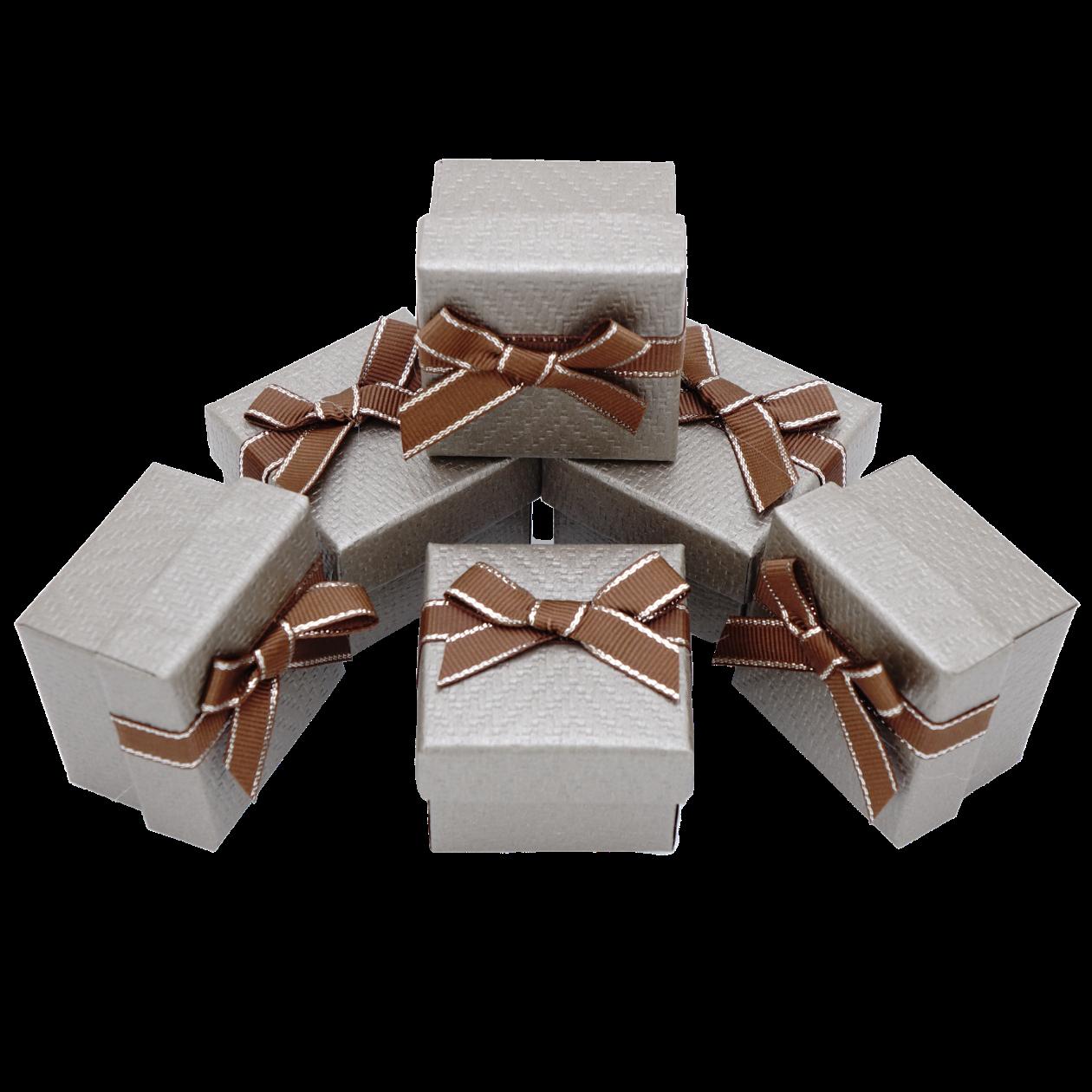 Подарочные коробки 50x50x35 Коричневый