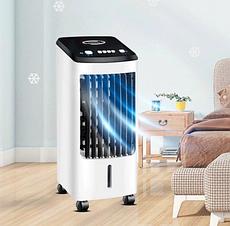 Охладитель увлажнитель воздуха Germatic BL-199DLR-A 120Вт | Портативный напольный кондиционер