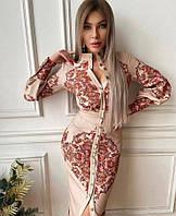 Женское турецкое нарядное платье, модное повседневное платье