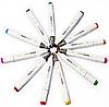 Маркеры для скетчинга 36 пр. Белый | Набор фломастеры для скетчинга скетч маркеры, фото 4