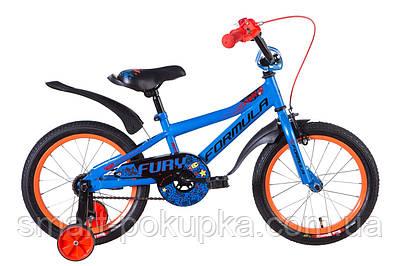 """Велосипед 16"""" Formula FURY 2021 (синій)"""