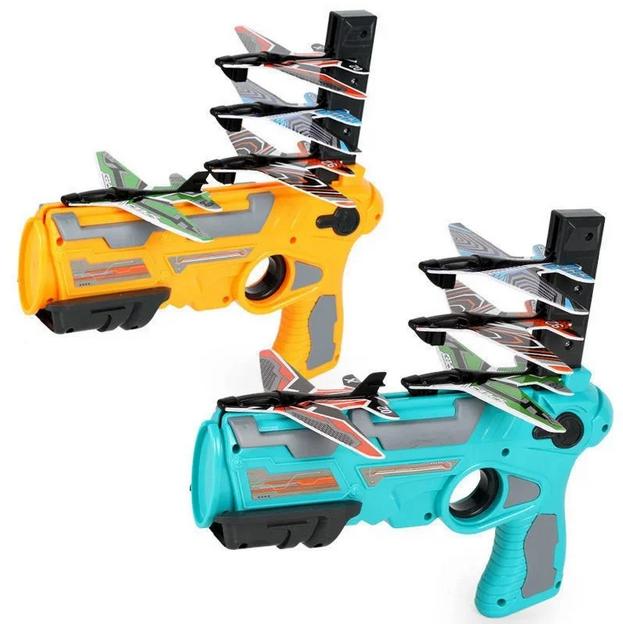 Пусковая установка самолетов Air Battle   Пистолет-катапульта с летающими самолетами